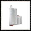 high quality PES pleated filter cartridge/folded filter element price made in China