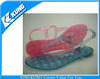 2014 lady PVC crystal jelly shoes, New design PVC crystal jelly shoes