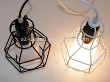 pendant lamp wire cage light guard