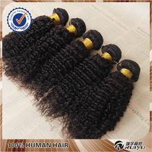 natural black soft and healthy brazilian deep curl hair weaving
