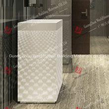 acrylic solid surface basin wash for bathroom