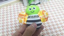 Toysrus supplier small plush animals lamaze toy bee children toys