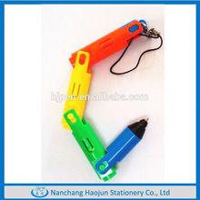Fancy Plastic Folding Led Pen, Cheap Giveaway Gifts