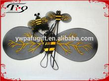 Ape nera ala, archetto e bacchetta fata ala set