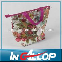 fashion shoulder strap cooler bag for women