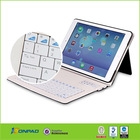 Leather Case+ABS Bluetooth Keyboard For iPad