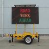 LED Solar VMS traffic display trailer, p16 led trailer,mobile led display trailer