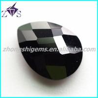 Make in China Wuzhou fancy cut pear shaped cz gem cutting and polishing machine