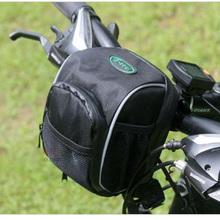 Mountain bike tube bag bicycle handlebar bag with rain cover bike accessories