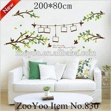 çıkarılabilir vinil ev duvar sticker/duvar çıkartma aile ağacı