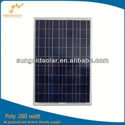 Direct factory sale slim solar panel