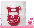 Oggetti di scena foto neonato, crochet baby costume, jimo efan fabbrica accessori
