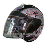 Ghost sticker open face motorcycle helmet 808