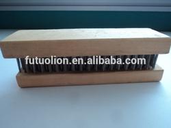 hand wooden wire brush