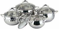 8pcs Apple shape cookware set / cooking pot