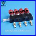 /glp gnc inyector de ferrocarril( rampa de inyección) para el glp/gnc sistema de inyección secuencial