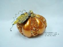 ceramic harvest festival pumpkin
