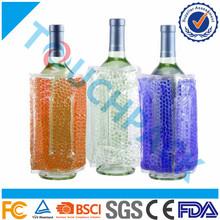 Reusable Gel Wine Cooler Wrap ,beer bottle cooler bag