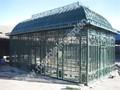 Forjado de hierro jardín de Metal de hierro Gazebo CHY-IG015D