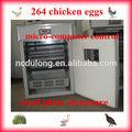 2014 projeto o mais atrasado! Automática cheia& mutifunctional incubadora peças solar dlf-t5 264 a realização de ovos