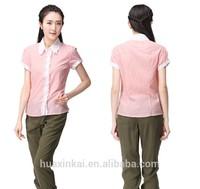 2014 new fashion designs beautiful women elegant formal blouses
