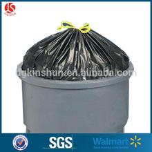 eco-friendly giant black black trash bag for supermarkets