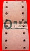 truck spare parts mercedes actros brake lining