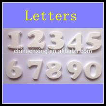 beautiful 3d artificial foam alphabet letters for DIY decoration