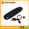 T8 2.4g mini fly air mouse wireless keyboard fly mouse remote control For Android TV Box, Computer and TV Using