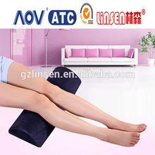 2014 new product memory foam pillow wedge leg