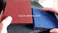 Anti de goma antideslizante cojín 20 mm, De caucho usado esteras, Ahueca hacia fuera de la puerta suelo de goma