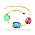 venta al por mayor de moda pulsera de plata de plata joyería de las mujeres 2014