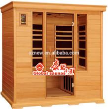far infrared cedar sauna and steam bath