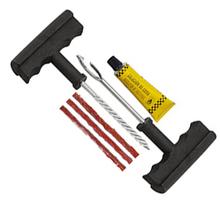 6 PCS Tubeless ATV SUV Motorcycle can passenger Tire Repair Plug Kit Tire Patch Fix Tools Puncture Repair kit