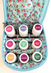 fabric essential oil storage box/case