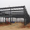 soldada de acero de fabricación de la estructura del proyecto