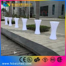 Fashionable china wholesale led furniture light up bar table desk