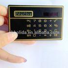 8 digits promotional pocket cheap calculator, business card calculators/ HLD-807