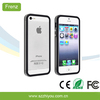 Luxury Ultra Thin Bumper Frame Case Cover for iPhone 5 5S For iphone 5 Cover