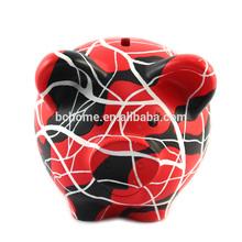 High quality custom make souvenir gift piggy bank,plastic piggy bank,kids plastic piggy banks