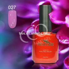 Professional polish nail gel / nail polish quality gel /Guangzhou beauty product OEM NO.027