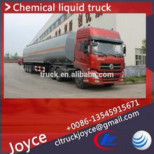 27m3 Chemical Truck,Dongfeng Liquid Chemical Tanker Semi Trailer