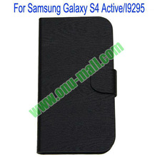 Leather flip cover for samsung galaxy s4 active I9295