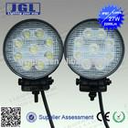 epsitar led work light marine, 27w led trailer work lights,2200lm led working light/truck light