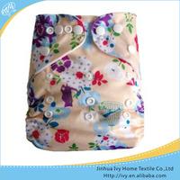 minkey healthy baby nursing cloth diapers factory supply