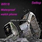 Stainless Steel hand phone watch waterproof