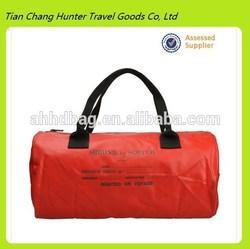 orange polyester golf travel bag