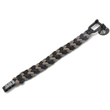 Snake Belly Bar Paracord Bracelet with a stainless steel logo Buckle