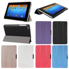 """Fashion 2014 Silk Patterns 3-Folders Leather Case Skin Stand For Lenovo A8-50 A5500 8"""" Tablet"""