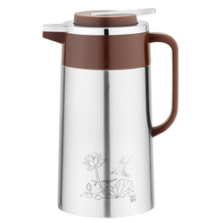 double walled vacuum coffee pot